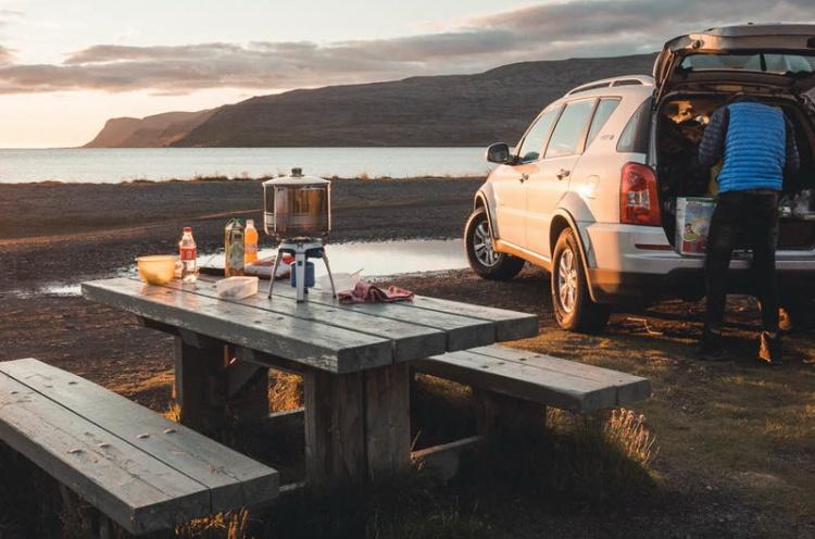 Походная еда для туриста в Исландии