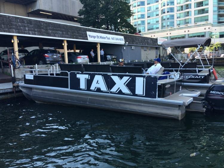 Водное такси в Торонто