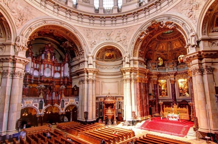 Берлинский собор изнутри
