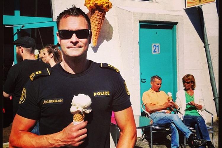 Инстаграм исландской полиции