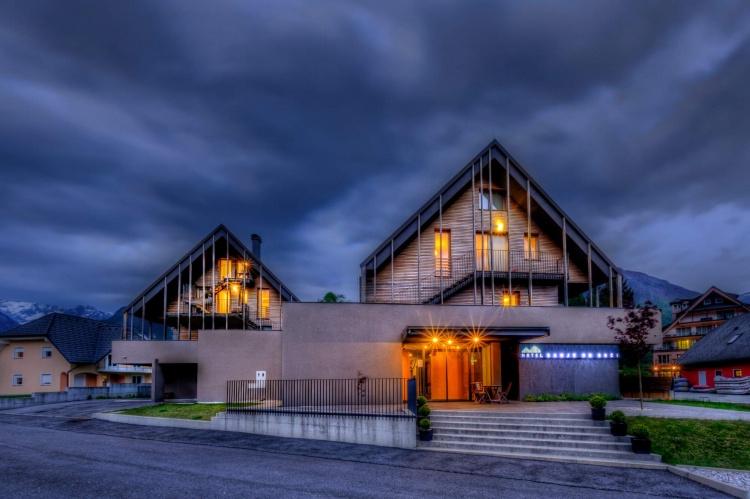 Отели в центре Бовец. Словения