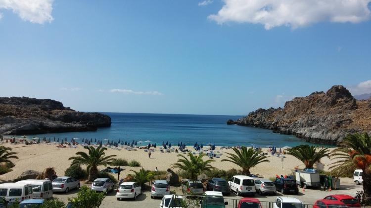 Пляж Плакиас, Крит