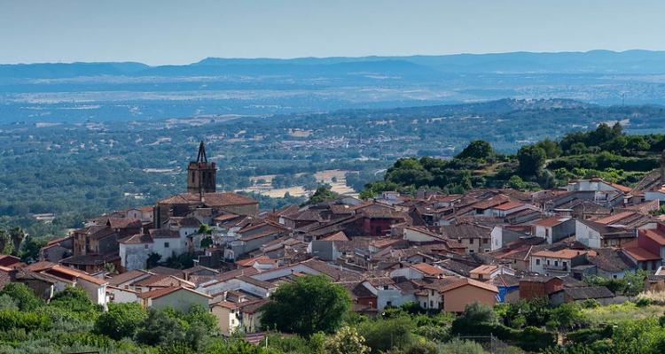 Эстремадура, провинция Касерес регион в Испании