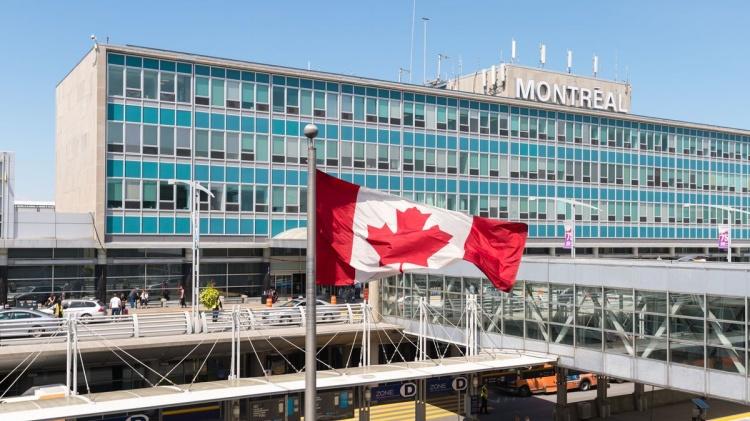 Аэропорт Трюдо Монреаль