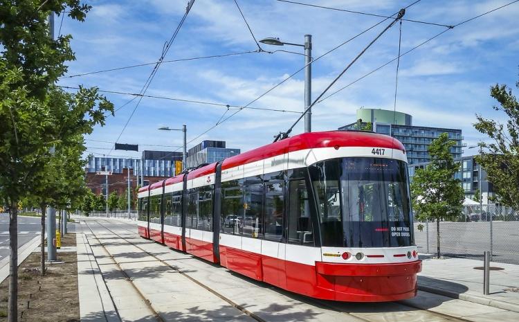 Трамвай в Торонто