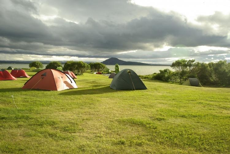 С палатками по Исландии