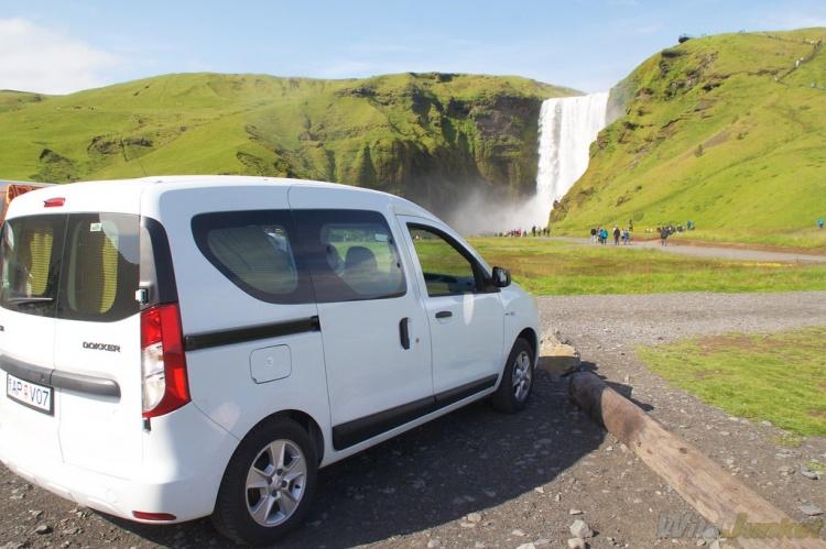 Парковки в Исландии