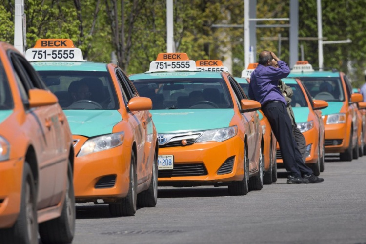 Такси в Торонто