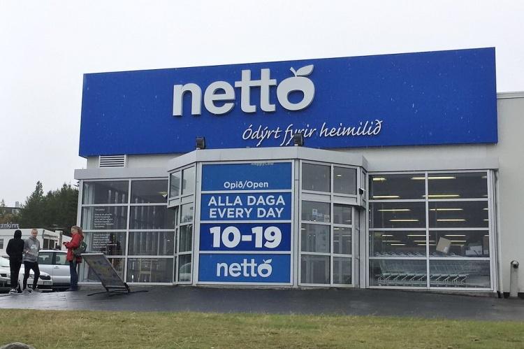 Сеть супермаркетов Netto в Исландии