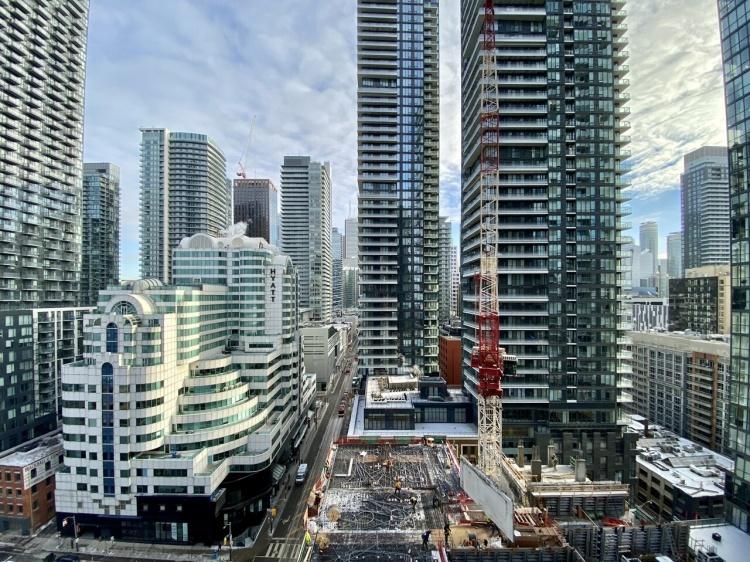 Район Entertainment District в Торонто