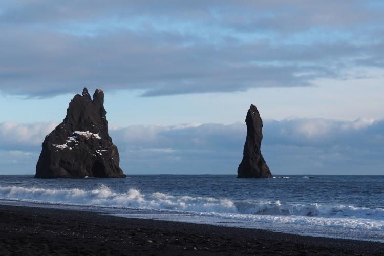 Пляж Рейнисфьяра в Исландии