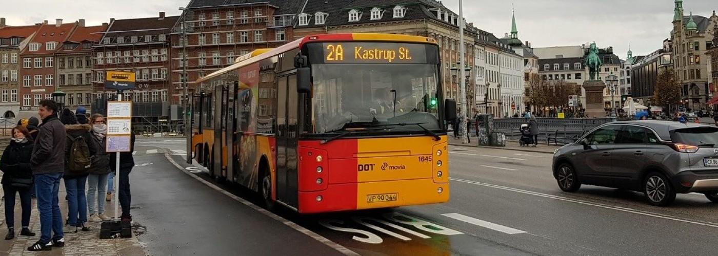 Транспорт Дании: автобусы, паромы, поезда