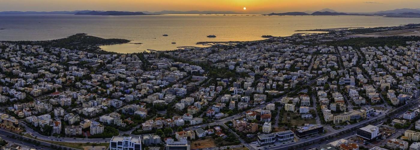 Афины: округи и районы города