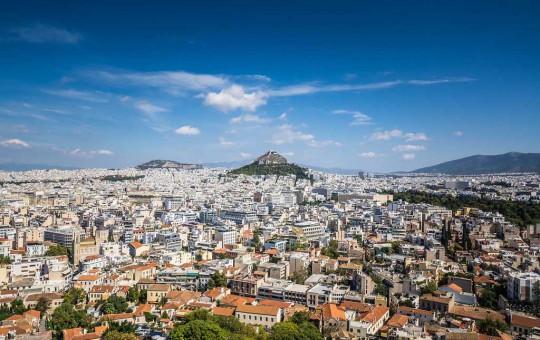 Афины: округи и районы города - изображение №1