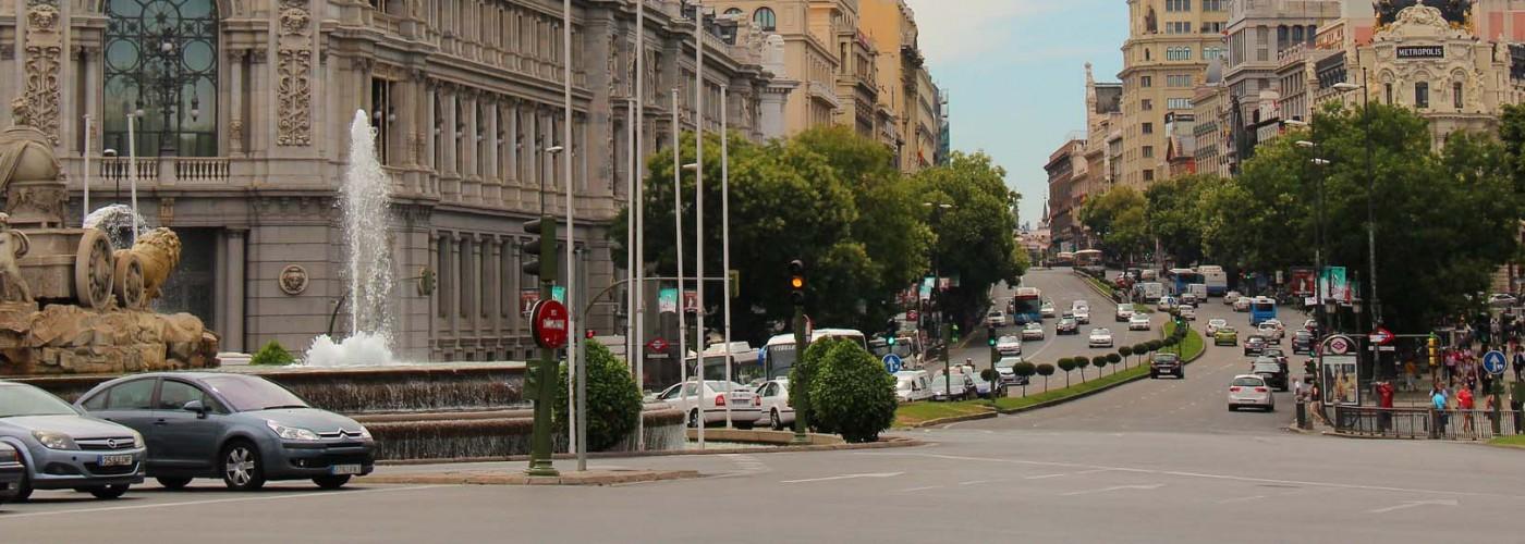 Аренда автомобиля в Мадриде