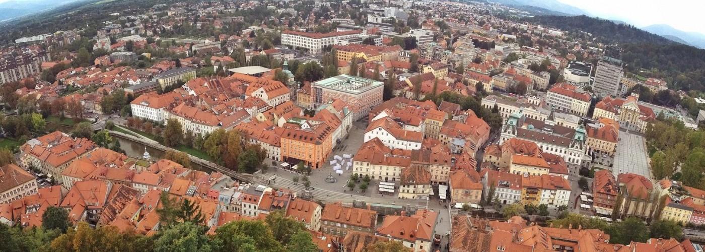 Любляны: районы города — описание, как добраться