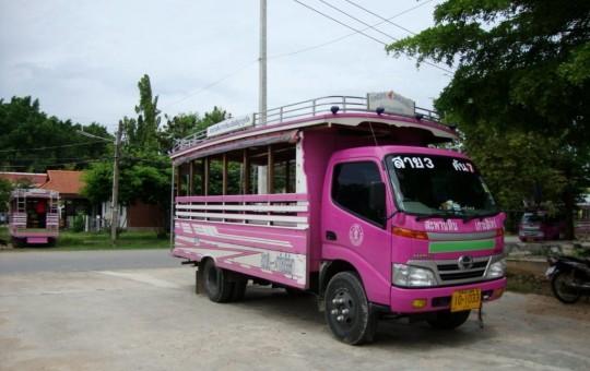 Общественный транспорт Пхукета: автобусы, такси, тук-туки и паромы - изображение №1