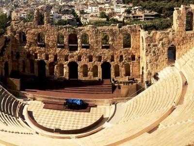Одеон Герода Аттического в Афинах