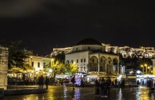 Рынок Монастираки в Афинах