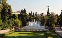 Национальный сад Василиос Кипос в Афинах