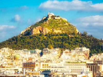 Гора Ликавит в Афинах