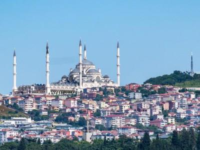 Холм и мечеть Чамлыджа, Стамбул