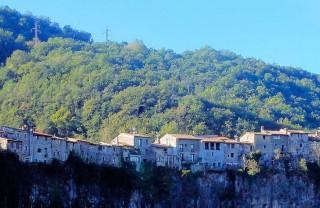 Город на скале Кастельфольит де ла Рока