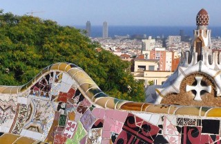 Парк Гуэль Антонио Гауди в Барселоне