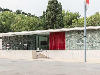 Павильон Германии в Барселоне