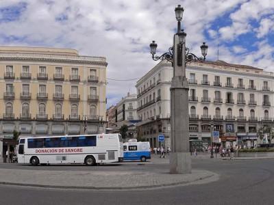 Площадь Пуэрта дель Соль в Мадриде