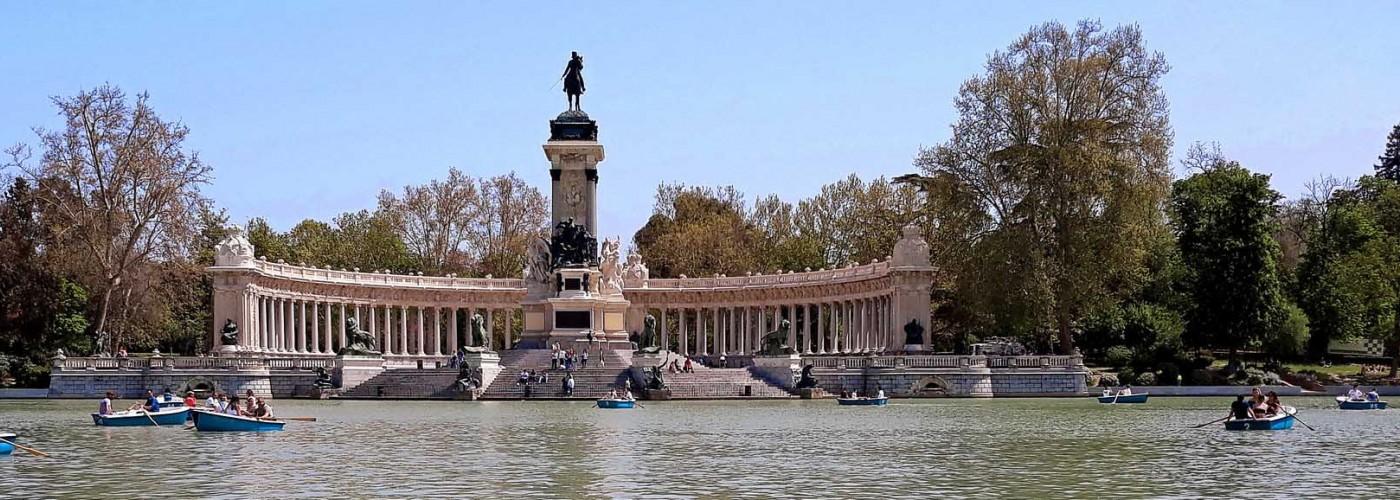 Парк дель Ретиро в Мадриде