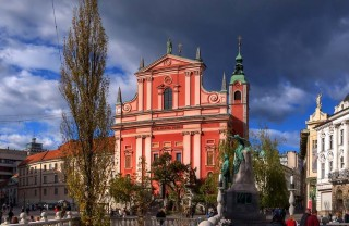 Францисканская церковь в Любляне