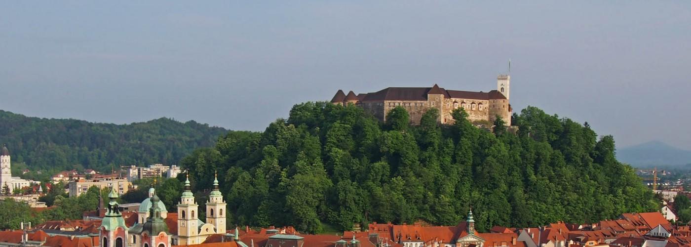 Люблянский замок в Словении