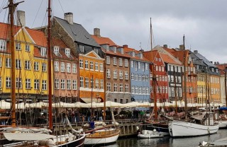 Нюхавн в Копенгагене