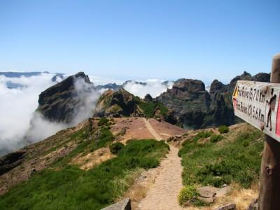 Пику-Арейро и Пику-Руйву, Мадейра