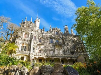 Парк и дворец Кинта да Регалейра в Синтре