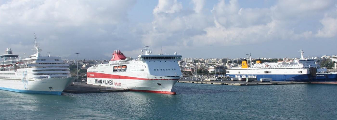 Транспорт на Крите: автобусы, паромы, такси