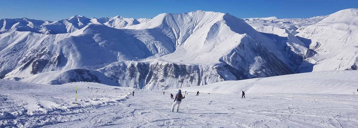 Гудаури: лыжные трассы, фрирайд, подъемники