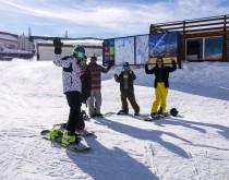 Обучение катанию на лыжах и сноуборде в Гудаури - изображение №3