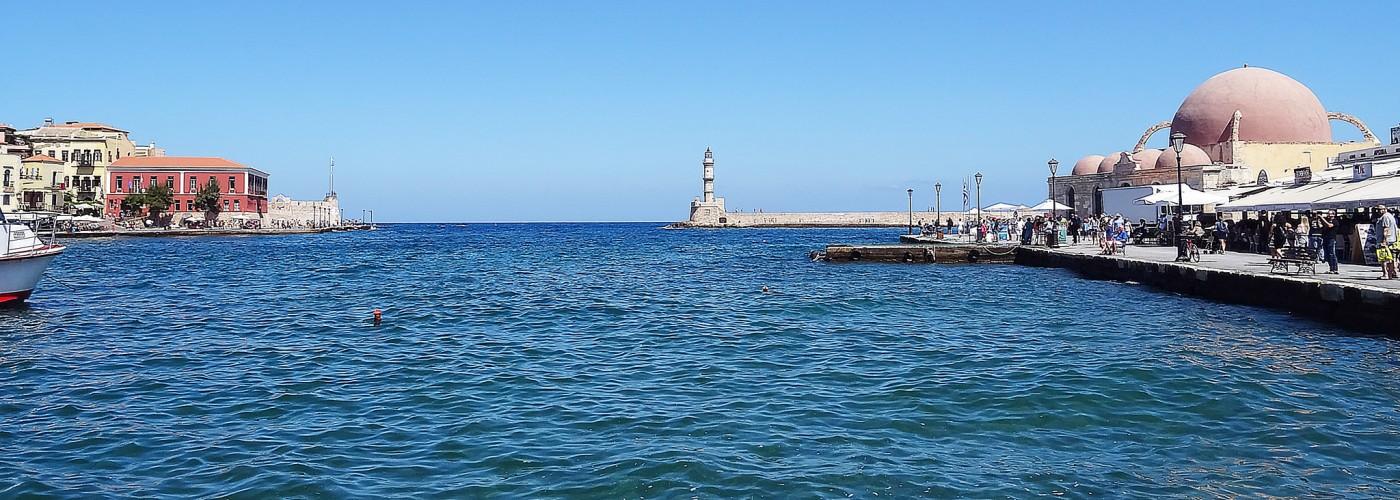 Венецианская гавань в Ханье, Крит