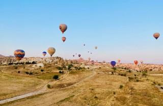 Турция, Каппадокия: Нацпарк Гёреме и воздухоплавание
