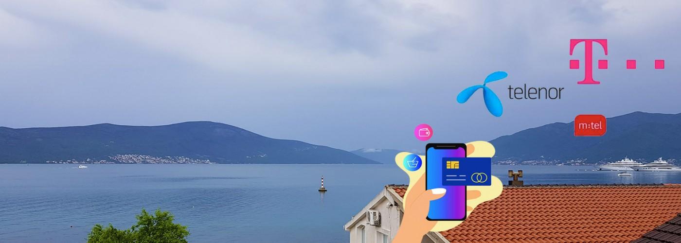 Интернет и мобильная связь в Черногории