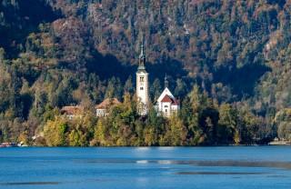 Церковь Святой Марии, Блед, Словения