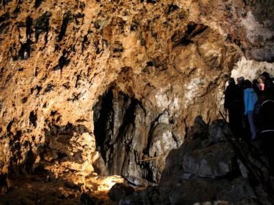 Скала и пещера Бабий Зуб, Словения