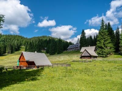 Горное плато Поклюка, Словения