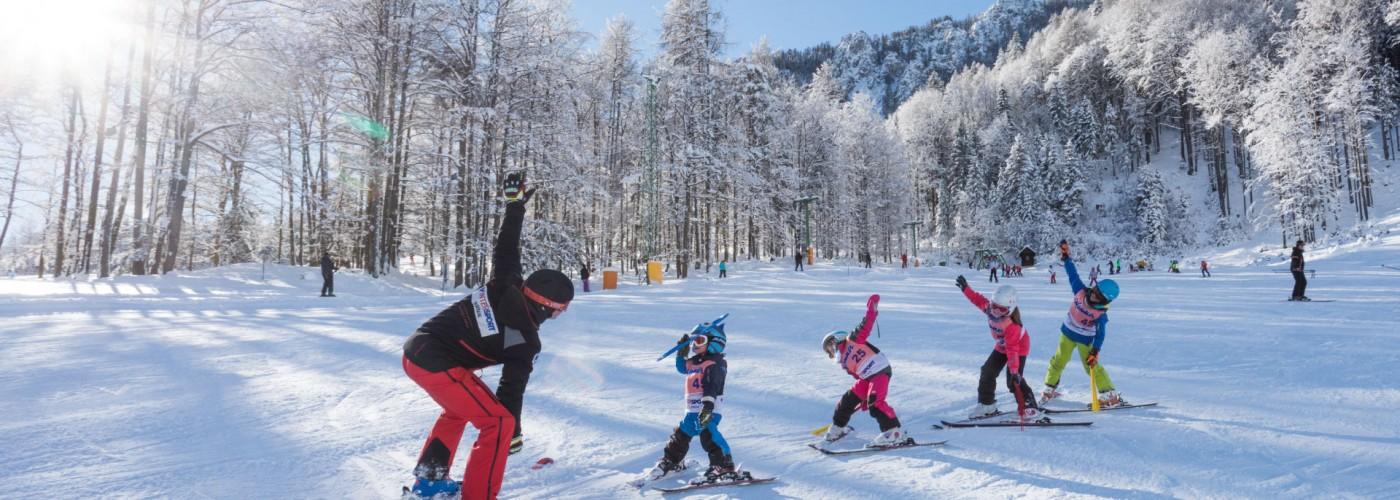 Краньска Гора: обучение катанию на лыжах и сноуборде