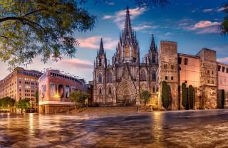Cобор Святого Креста и Святой Евлалии в Барселоне