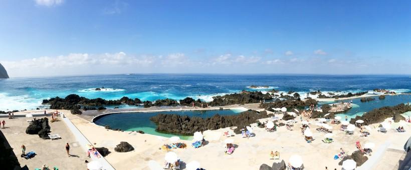 Пляжный отдых на Мадейре