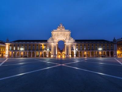 Триумфальная арка в Лиссабоне