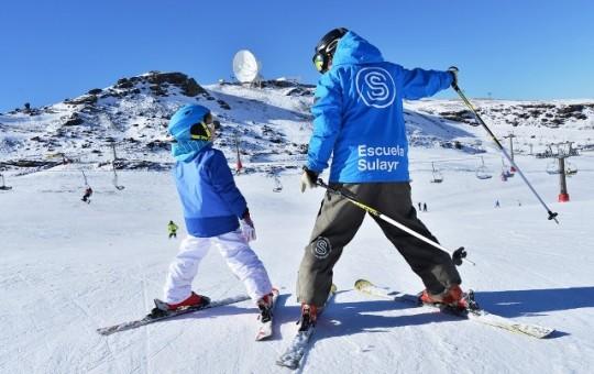 Лыжная школа и инструкторы в Сьерра Неваде - изображение №1